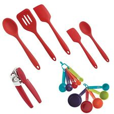 Farberware Colourworks 16-Piece Kitchen Tool and Gadget Set-Measuring Cups Spoon