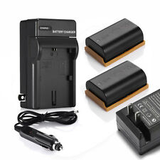 2x LP-E6 LPE6 Battery For Canon EOS 7D 70D 6D 60D 5D Mark II III Camera +Charger