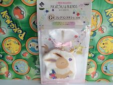 Pokemon Set Pikachu and Friends with Berries Prize Eevee plush Sachet Pouch go