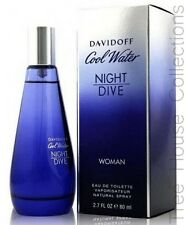 COOL WATER NIGHT DIVE BY DAVIDOFF EDT PERFUME FOR WOMEN 80ML
