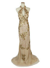 New Genuine Jovani 89816 Gold Wedding Bridal Women Gown Evening Formal 12