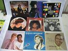 Lot of 9 45 Record Picture Sleeves Only Janet Jackson Collins Mac Benatar