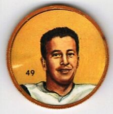1963 Nalley's Premium Football Coin Hamilton Tiger-Cats #49 Tommy Grant