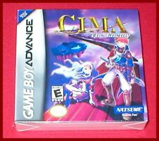 CIMA The Enemy for the Nintendo Game Boy Advance System NEW SEALED