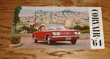Original 1964 Chevrolet Corvair Sales Brochure 64 Chevy Monza Spyder