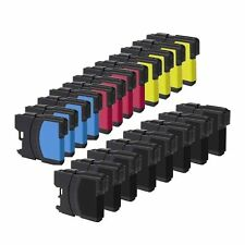 New 20PK Ink For Brother MFC-490CW MFC-J415W MFC-J615W LC61 LC-61BK LC-61C LC-61