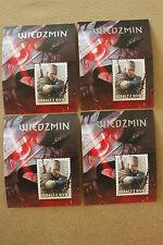 The Witcher 3: Wild Hunt - 4 Stamps  Polish Exclusive - ZNACZKI WIEDŹMIN