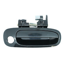 Outside Door Handle - Front Right Passenger Exterior - Smooth Black