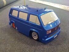T25 Camper Van Vw Bus kamtec Tamiya M Chasis Abs + calcomanías