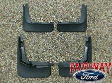 13 thru 17 Fusion OEM Genuine Ford Parts Molded Splash Guard Mud Flap Set of 4