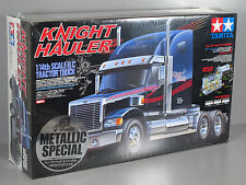 "Rare New Seal 1/14 RC Tamiya Knight Hauler ""Metallic Chrome Special Edition"""