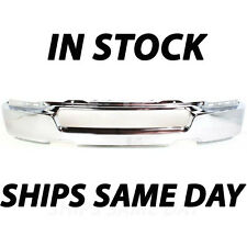 New Chrome - Steel Front Bumper Face Bar 2004 2005 Ford F150 Truck 4L3Z17757AA