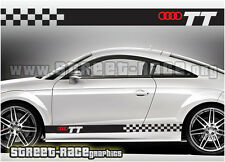 Audi 010 racing stripes graphics stickers decals TT quattro
