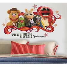 ROOMMATES MUPPETS COLLAGE MOVIE GIANT PEEL & STICK WALL DECAL