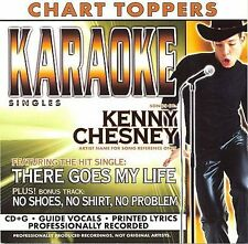 Karaoke: There Goes My Life / No Shoes No Shirt No, Chesney, Kenny, New Karaoke,