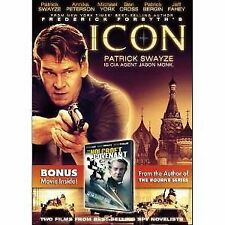 Icon (BRAND NEW DVD) Patrick Swayze, Michael Caine, FREE SHIPPING !!