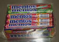 Mentos Chewy Fruit Flavor 15 1.32z Rolls Breath Candy Fresh Stock The Freshmaker