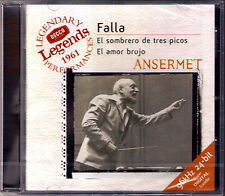 Ernest ANSERMET: FALLA El sombrero de tres picos Amor Brujo Teresa BERGANZA CD
