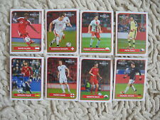 panini extra stickers coca cola euro 2016 A-H  complete set