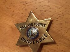 Obsolete Badge - Ballard County , Kentucky Constable Badge
