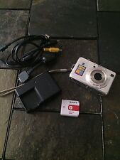 Sony Cyber-Shot DSC-W100 8.1 MP Digital Camera Silver Cybershot