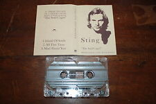 The Police - Sting AUSTRALIA The Soul Cages promo tape