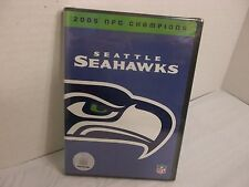 SEATTLE SEAHAWKS 2005 nfc CHAMPIONS  DVD NEW! Hasselbeck Training Camp & MORE!