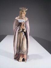 +# A010756 Goebel Archiv Muster Krippe Heiliger König betet HX48M alt