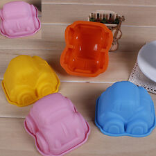 New Car Mould Silicone Ice Chocolate Jelly Muffin Bread Cookie DIY Baking