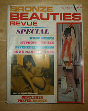 Bronze Beauties Revue Volume 2, Number 2, Issue of July, 1967 Adult Magazine