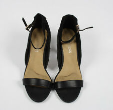 Ladies High Stiletto Heel Peep Toe Ankle Strappy Party Sandals Size UK 7 EUR 40