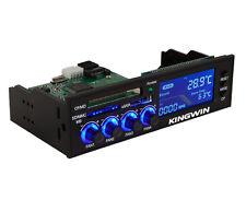 Kingwin FPX-003 5.25inch Bay 4Ch Fan Controller ,eSATA Port,Card Reader