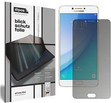 Samsung Galaxy C7 Pro Blickschutzfolie matt Schutzfolie Folie dipos