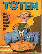 Fumetto TOTEM EDIZIONE NUOVA FRONTIERA ANNO 1980 NUMERO 6 OTTIMO