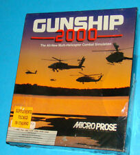 Gunship 2000 - Commodore Amiga 500 A500 - PAL New Nuovo Sealed