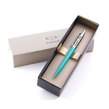 Personalised Engraved Parker Jotter Green Ballpoint Pen - Great Gift