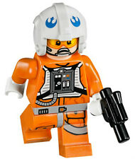NEW LEGO STAR WARS DACK RATLER MINIFIG 75049 figure minifigure rebel pilot toy
