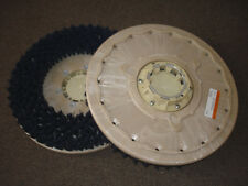 "17"" BRUSH SET (QTY. 2) , OEM CLARKE, BLUE, MEDIUM GRIT, 11430B, FLOOR SCRUBBERS"