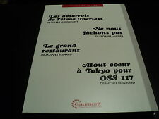 LES DESARROIS DE L'ELEVE TOERLESS / ATOUT COEUR A TOKYO POUR OSS 117 / NE NOUS F