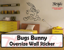 Looney Tunes - Bugs Bunny Custom Vinyl Sticker