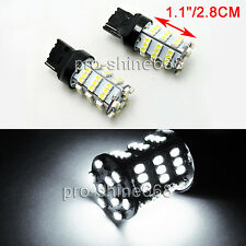 2pcs 54-SMD LED Pure White 7440 Back Up Reverse Lights FOR Cadillac Escalade 07