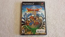 Dragon Quest VIII 8 (Sony PlayStation 2, 2006) PS2 Complete w demo disc VG