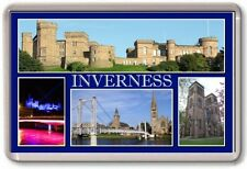 FRIDGE MAGNET - INVERNESS - Large - Scotland TOURIST