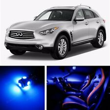 20x LED Blue Light Interior Package Kit for Infiniti Fx35 Fx37 Fx50 or Qx70