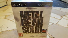 METAL GEAR SOLID THE LEGACY COLLECTION  VERSIONE ITALIANA NUOVO SIGILLATO PS3