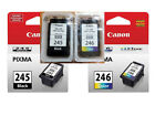 Canon 245/246 black/color Ink Cartridges for MG2920 MG2520 MG2922 Printer