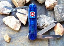 Victorinox SWISSLITE Sapphire Original Swiss Army Knife 53026 NEW! Authentic!