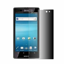 SCREEN PROTECTOR PRIVACY ANTIESPIA SONY XPERIA ion LT28i  pro MK16i . PLAY r800