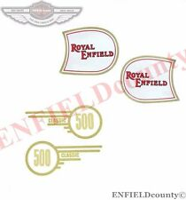 NEW FUEL TANK & TOOL BOX STICKER ROYAL ENFIELD CLASSIC 500 MOTORCYCLE