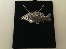 F35 Common Carp on a 925 sterling silver Necklace Handmade 30 inch chain